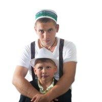 С сыном :: Евгений Зимин