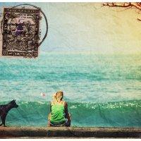 Открытка с острова Бали :: Евгений Старков