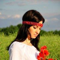 Девушка в поле :: Анна Резник