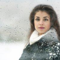 Девушка зима. :: Николай Тренин