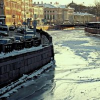 Мойка зимой :: Алексей Астафьев