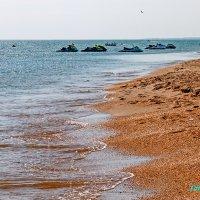 Пляж в Витязево... :: Елена Васильева