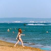 Пляж в Витязево :: Елена Васильева