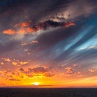 Закат над Атлантикой :: Алексей Дубровин