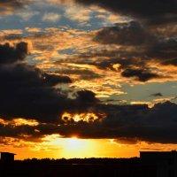 Небо в огне :: Марина Шлык