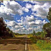 дорога в облака :: Дмитрий Анцыферов
