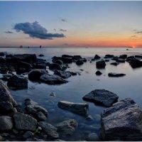Закат на заливе :: Алексей Говорушкин