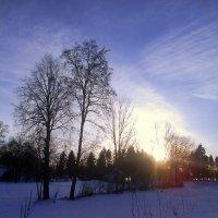 зимние облака :: Вячеслав Михеев