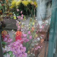 Интерьер витрины цветочного магазина у м. Горьковская. :: Светлана Калмыкова