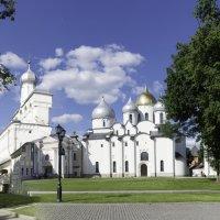 Великий Новгород. Софийский собор и звонница. :: Виктор Орехов