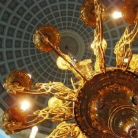 ц. влкм Варвары свод и светильник :: Анна Воробьева