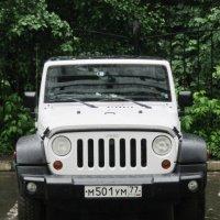 Белый Jeep Wrangler :: Дмитрий Никитин