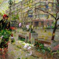 Уличный арт - в мечтах о лете :: Галина Щербакова