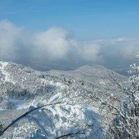 наплыв облаков в Алматинских горах :: Горный турист Иван Иванов