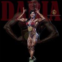 NABBA PRO World champion Daria Diossi :: Павел Бирюков
