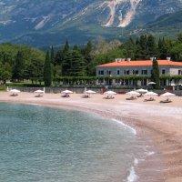 Пляж Милочер, Черногория :: Анна Бухарская