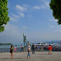Цюрих...Цюрихское озеро :: Galina Dzubina