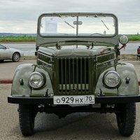 Советский внедорожник   ГАЗ - 69 :: Милешкин Владимир Алексеевич