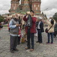 Гости Москвы :: Алексей Окунеев