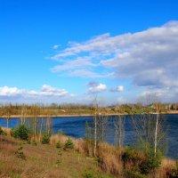 синь неба и воды :: Александр Прокудин