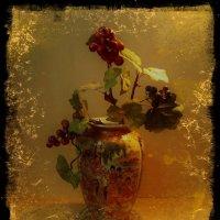 Виноградная лоза в китайской вазе :: Nina Yudicheva