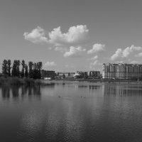 Немецкое   озеро   в    Ивано - Франковске :: Андрей  Васильевич Коляскин
