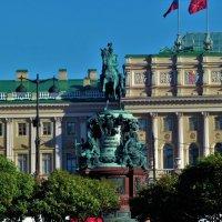 Памятник Николаю Первому... :: Sergey Gordoff