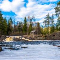 Рускеальские водопады на реке Тохмайоки :: Владимир Лазарев
