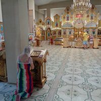 Молитва в Храме  Святого Духа (город Днепр) :: Алекс Аро Аро