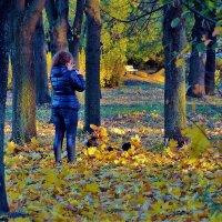 Фото на память о Золотой осени... :: Sergey Gordoff