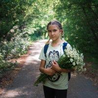 Девочка с ромашками :: Артемий Кошелев