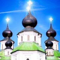 Купола Старочеркасского Воскресенского собора :: Viktoria Shakula