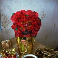 Кофе с конфетами :: Вера Щукина