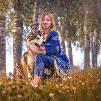 Маша и Серый Волк :: Наталья Мячикова