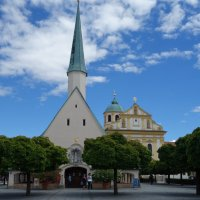 Альтёттинг – место паломничества - Бавария... Часовня Благодати :: Galina Dzubina