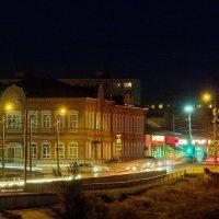 Ночные огни небольшого городка :: berckut 1000