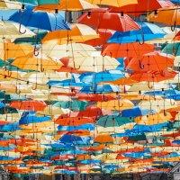 Небо в зонтиках :: Андрей Липов