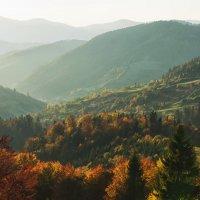 Солнечный вечер в горах :: Сергей Форос