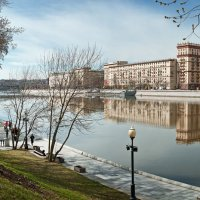 Москва. Пушкинская наб. :: Борис Руненко