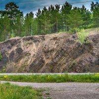 Скалы у берега реки Томь :: Владимир Деньгуб