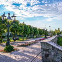 На набережной Тамбова............ :: Александр Селезнев
