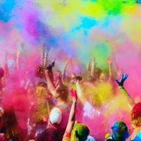 Фестиваль красок холи :: Эдуард Тищенко