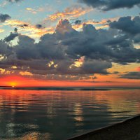 Восход на лимане.. :: Клара
