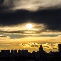 Закат на Москвой :: Наталия