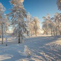 Закат на Белой горе :: Сергей Рогозин