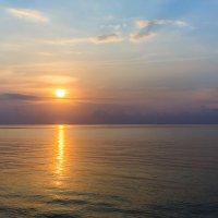 Закат.Мальдивы. :: Татьяна Калинкина