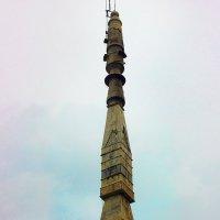 Необычная колонна на Индийском храме. :: Александр Бычков