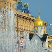Фонтаны Новосибирск :: Наталья Золотых-Сибирская
