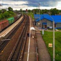 Железнодорожный вокзал :: Сергей Кунаев