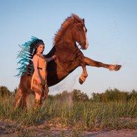 Индейцы на Белом Море :: Диана